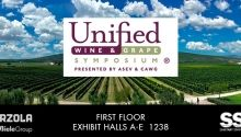 Marzola presente en 2019 Unified Wine & Grape Symposium, USA
